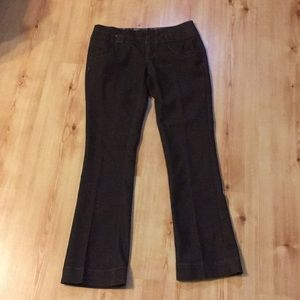 Brown western pants